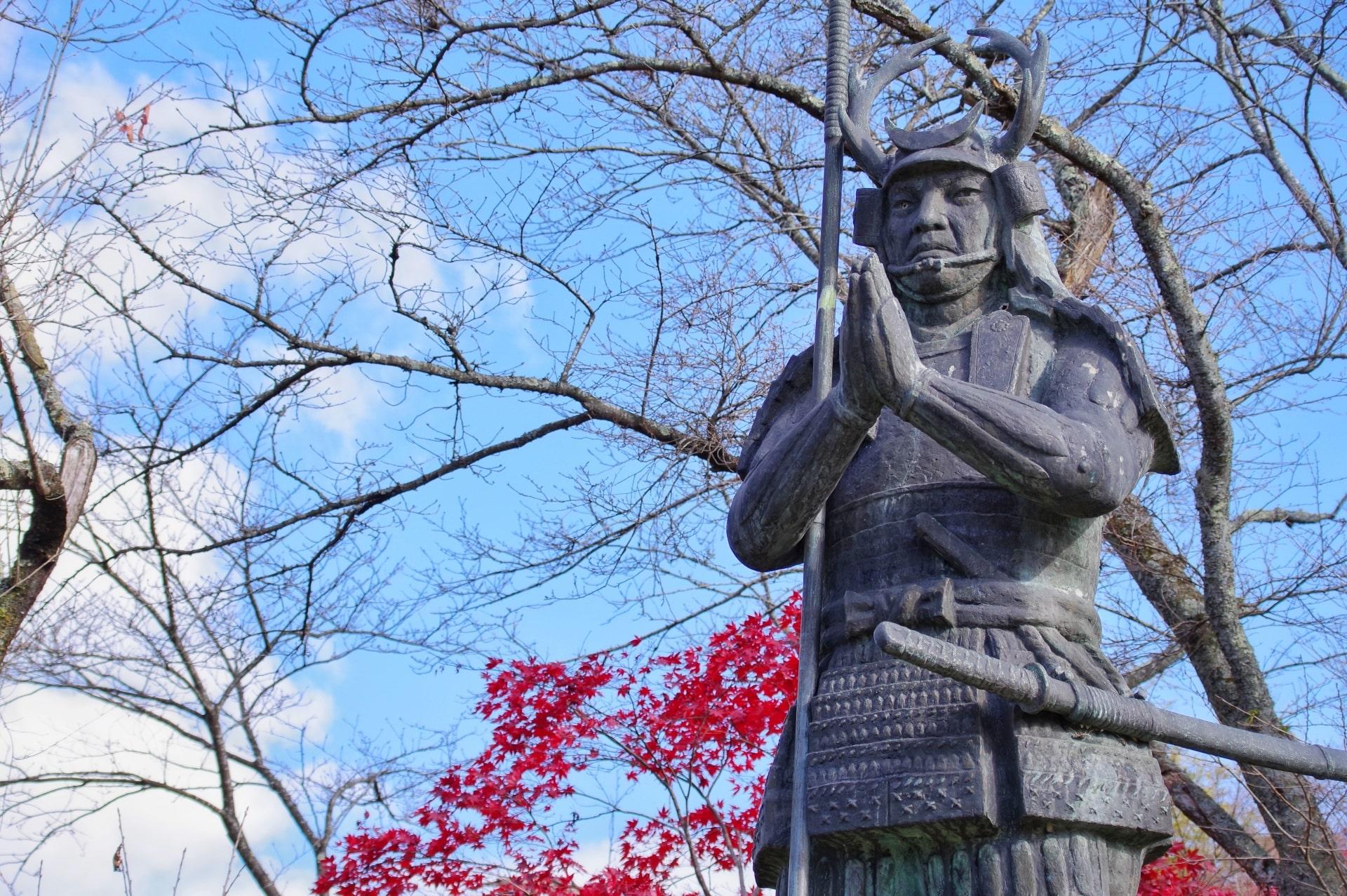 安来市の武将、尼子三傑の1人である山中幸盛またの名を山中鹿之助